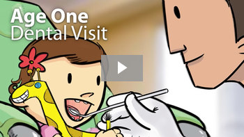 Age one dental visit - video