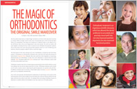 Article on orthodontics from Dear Doctor magazine